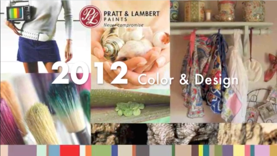 Pratt & Lambert 2012 Color Forecast
