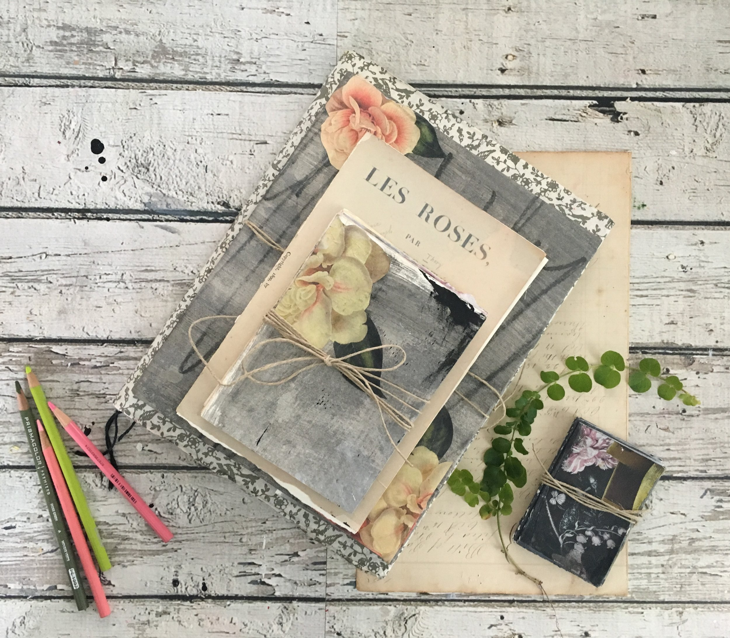 your art journal is a sacred place to keep your creative ideas