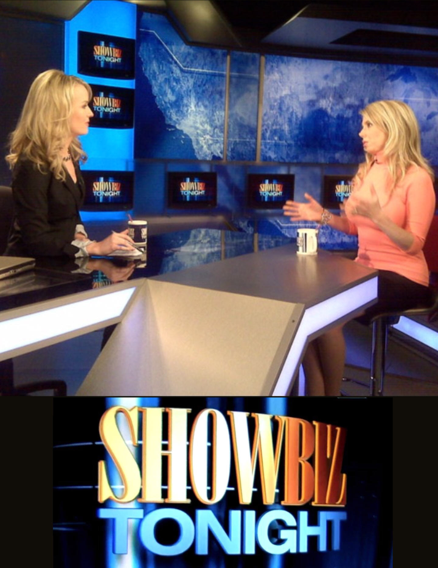 Michelle Harris of Alive & Well TV Show on Showbiz Tonight