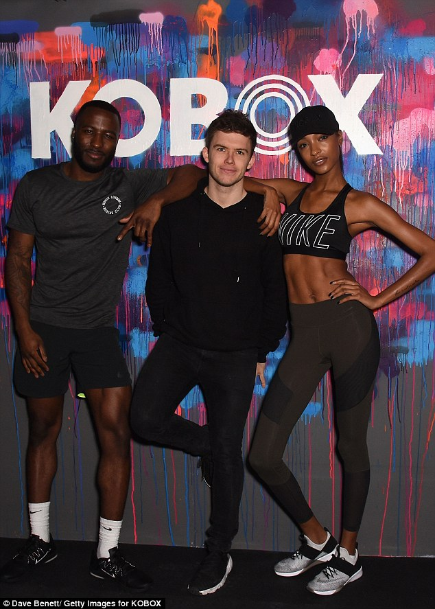 Just a casual day for Shane, hanging with Jourdan Dunn and Mr Oliver Lee!