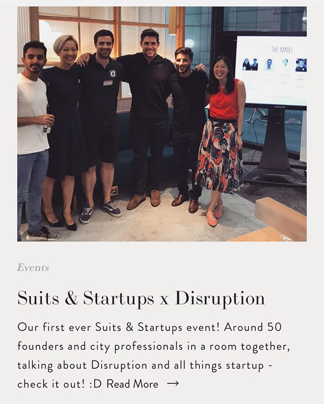 New blog post up on the S&S website giving a quick recap on our first ever event 👩🏻‍💻👨🏾‍💻💫☝🏾 #whensthenextone #excitingtimesahead 🚀 #suitsandstartups #blog #disruption #smallbusiness #startups #entrepreneurs #professionals #community #city #london #pwc #getadrip #daiwear #nutrifix #dowhatyoulove