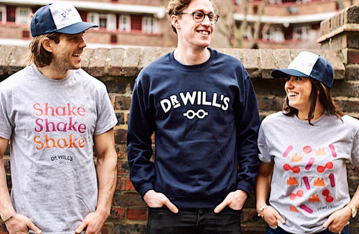 We love the Dr Will's merch! Get your hands on some on the Dr Will's website with our exclusive discount!