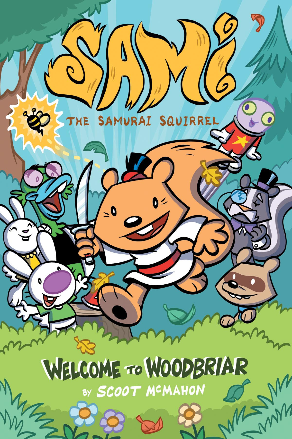 Sami the Samurai Squirrel Welcome to Woodbriar Cover.jpg