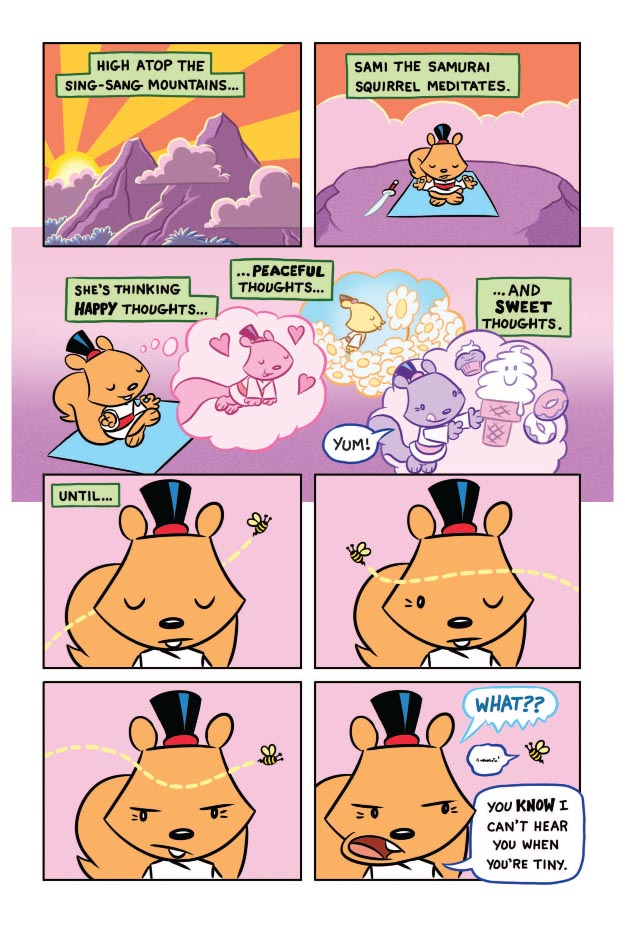 Sami the Samurai Squirrel Welcome to Woodbriar Page 2.jpg