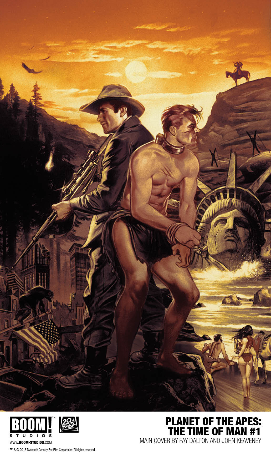 Planet of the Apes - The Time of Man #1.jpg