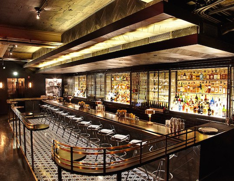 Inside the Hotel-Inspired Denson Liquor Bar   -- WASHINGTONIAN, November 2014
