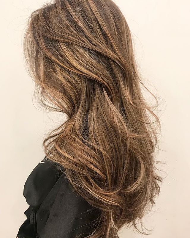 "The Hairstylists was asked what color this was.. she mentioned "" sexynesssss 🔥 The Glam house wants to make you feel your best at all times, we love making you feel confident, sexy, empowered. #Alexandria"