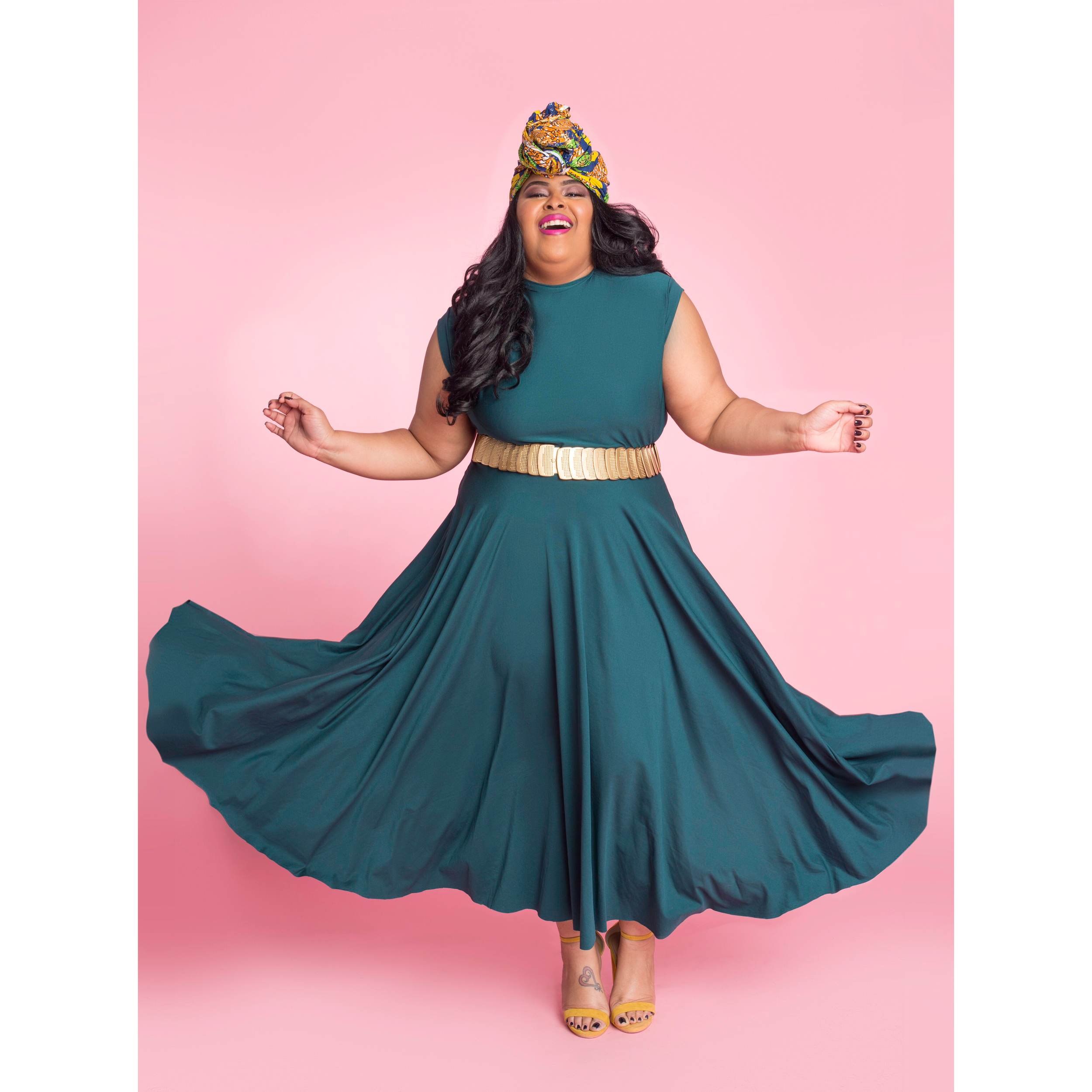 Featured :  Circle Dress