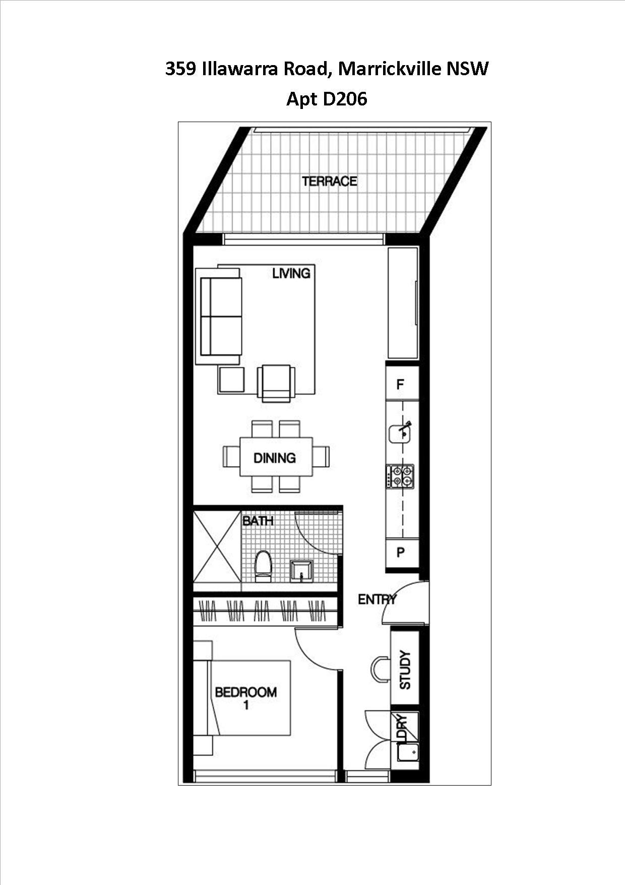 Floor Plan Apt D206 1 x 1 plus study and parking.jpg