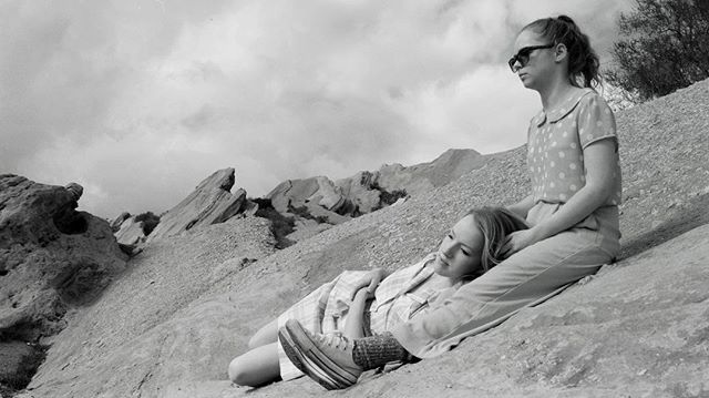 Here's a sneak peek of our teaser trailer, coming out soon! . . . . . #grayscale #shortfilm #indiefilm #film #blackandwhite #photography #actress #actor #landscape #desert #1960s #1960sfashion #cinematography