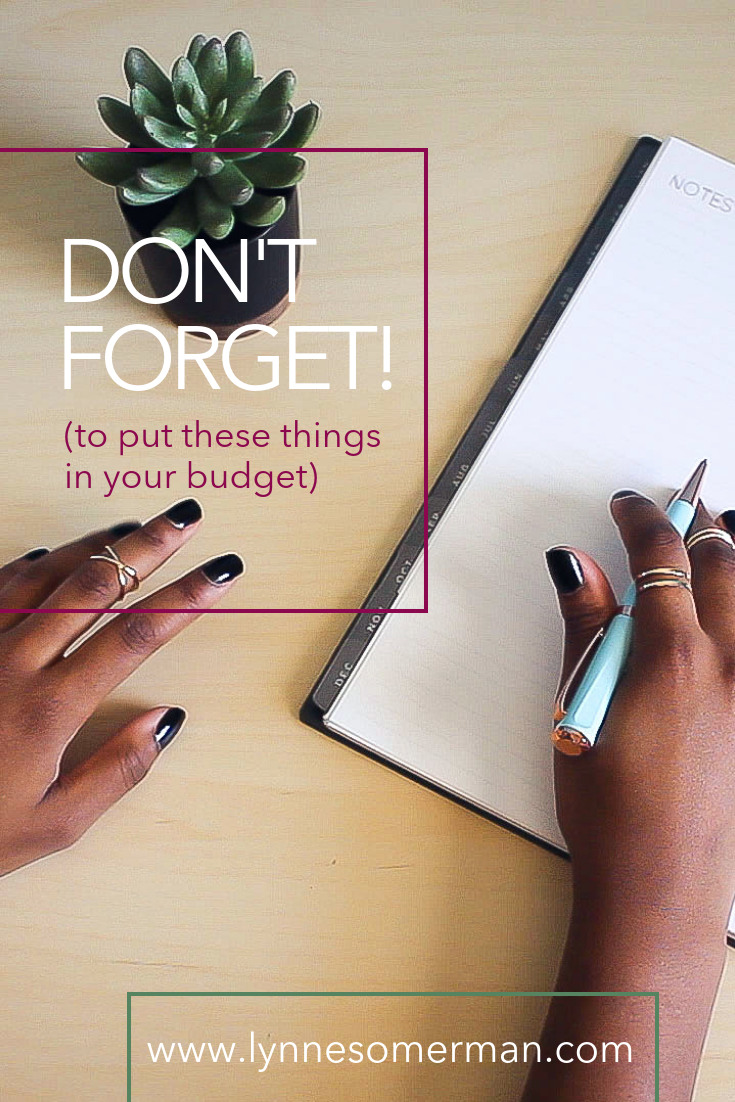 Budgeting tips || Don't forget to put these things in your budget by The Wiser Miser. Here are the things you need to put in your monthly budget planner.