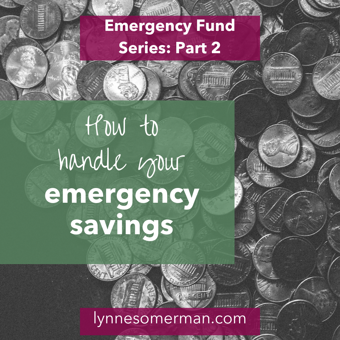 Personal finance advice || How to handle emergency savings by The Wiser Miser. Here's some tips on financial planning an dhow to handle your emergency savings.