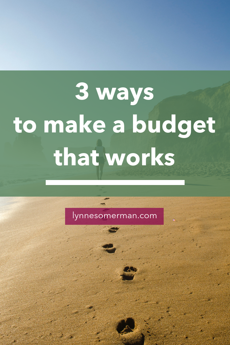 3 ways to make a budget that actually works by The Wiser Miser. Struggling to know how to manage your home budget? Here's some budgeting advice to make a budget that actually works.