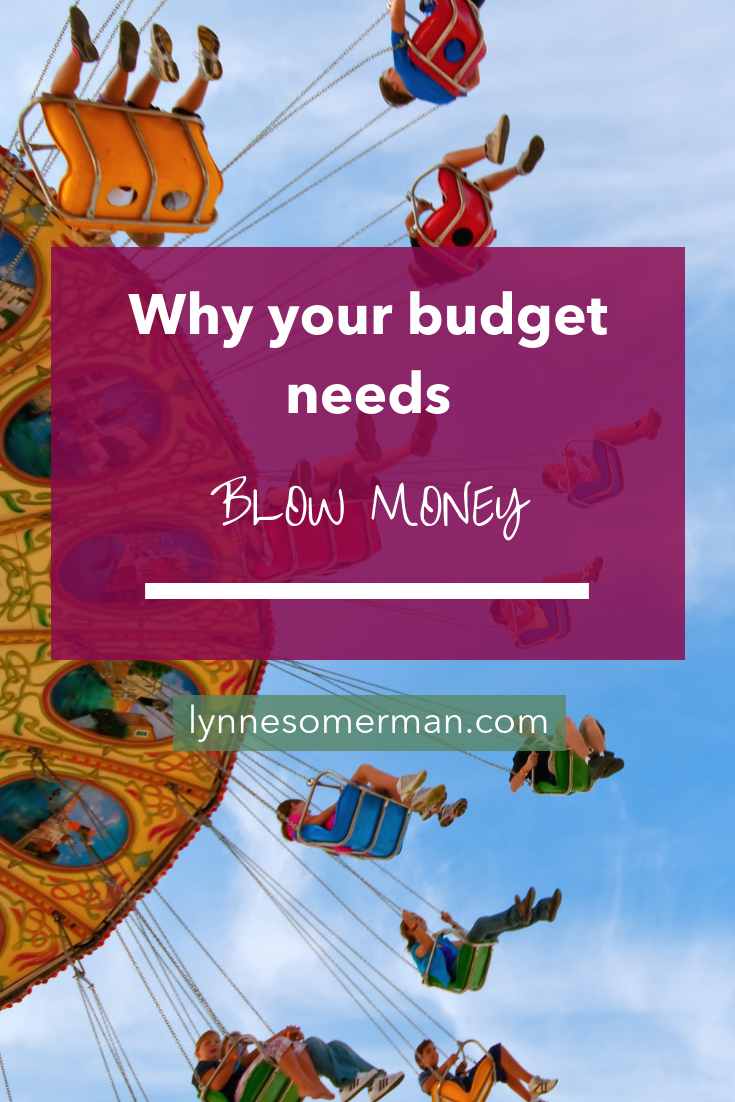 """Why your budget needs """"blow money"""" by The Wiser Miser. If you're looking to learn how to manage your budget, you need to learn about your """"blow money""""."""