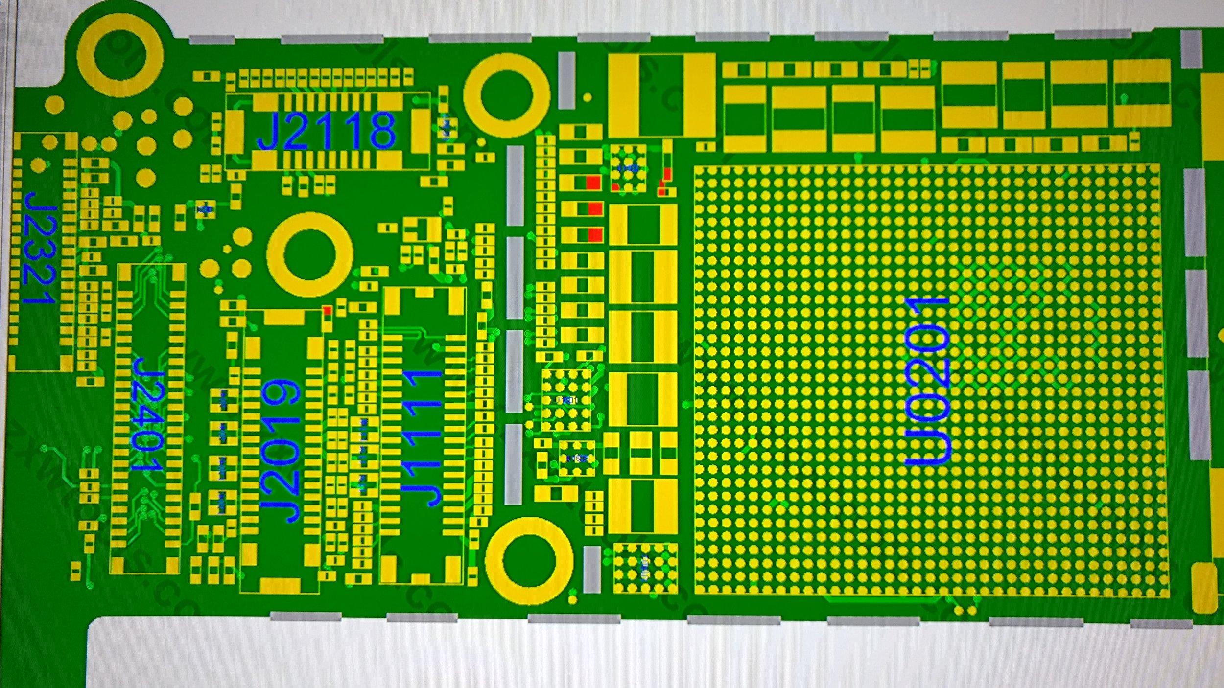iPhone 6 Backlight circuit