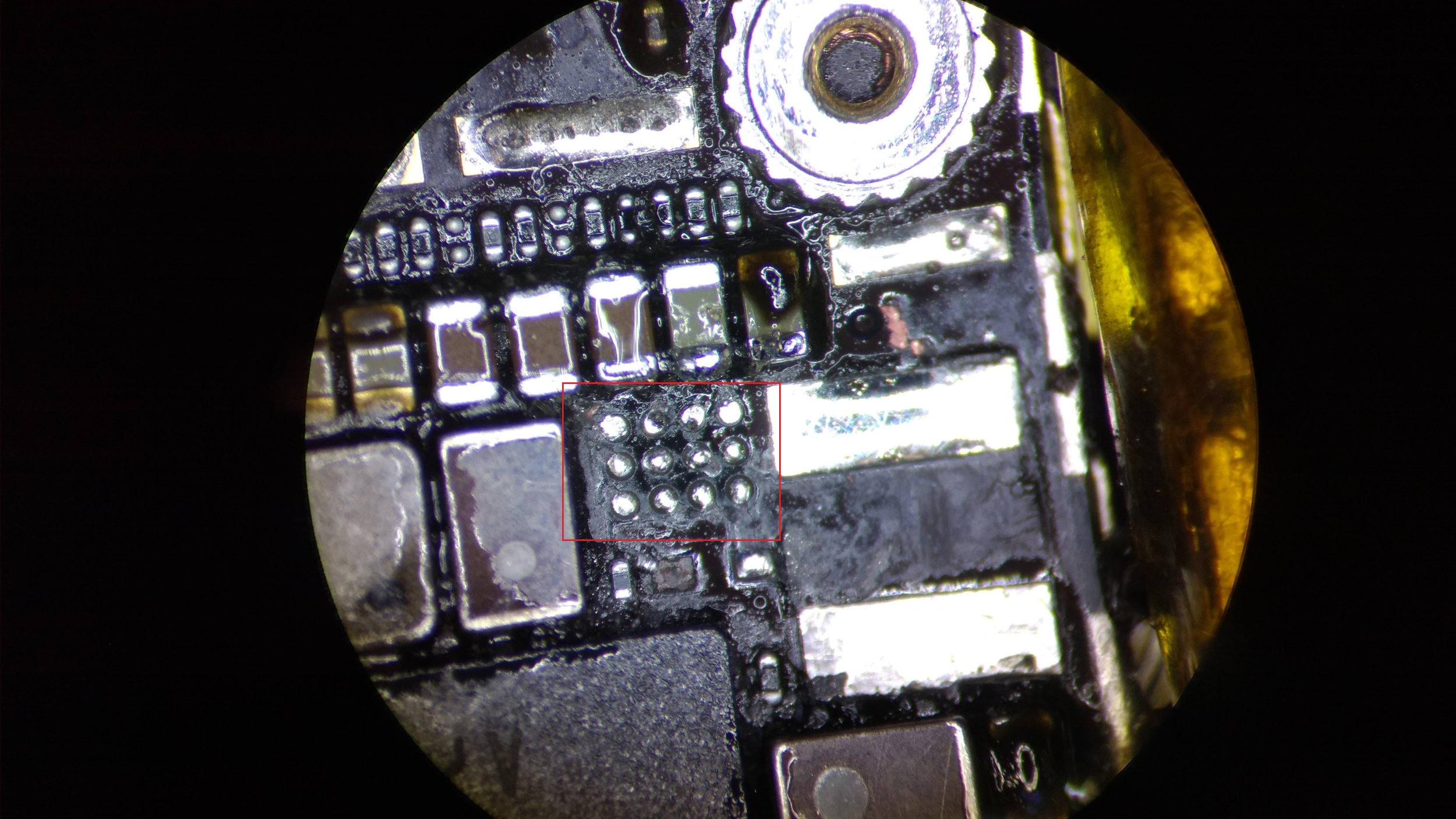 Backlight display driver IC U1502 - Removed
