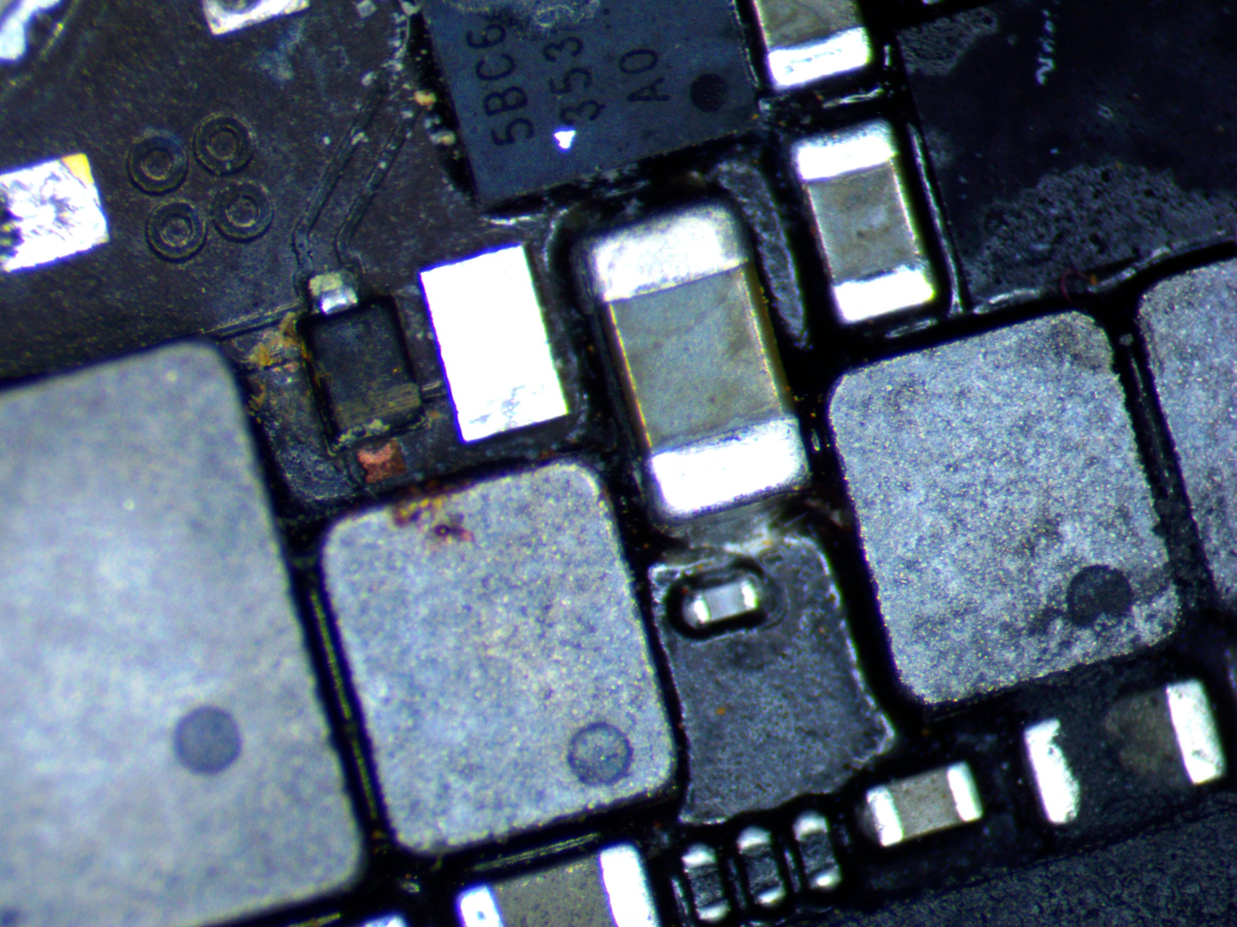 iPhone 6S Burnt Diode