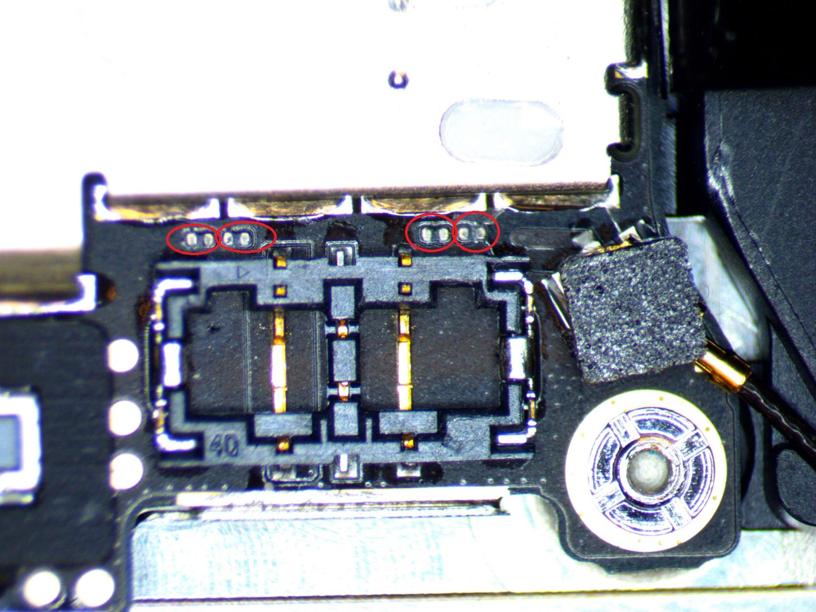 iphone 5 pry damage repair