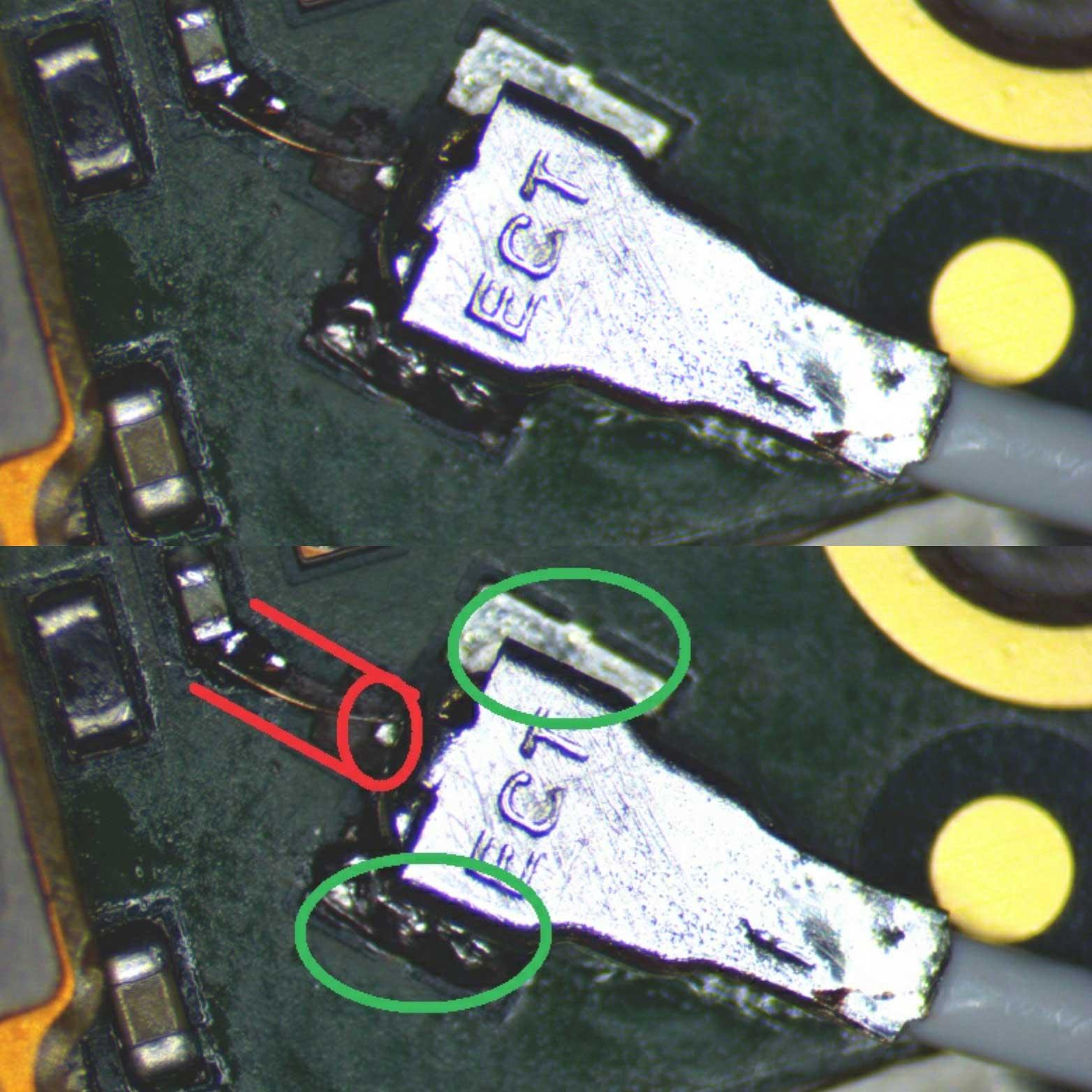 motherboard antenna repair