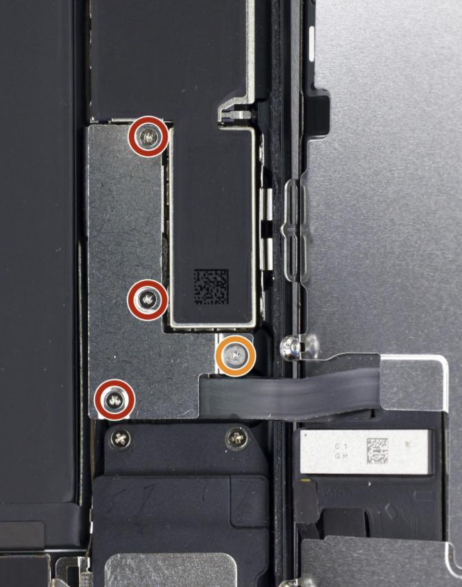 iPhone 7 screw repair service micro soldering