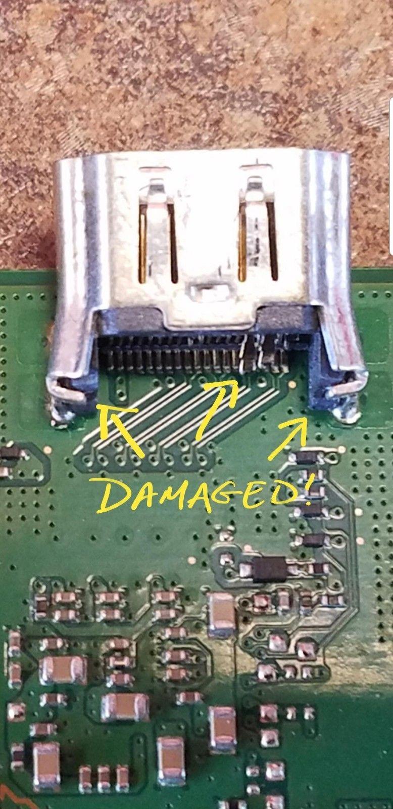 PS4 Port Damaged