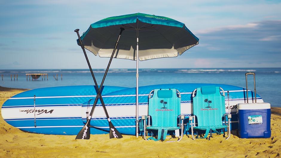 Oahu Beach Gear Rentals - Haleiwa Package