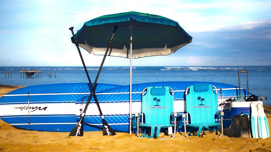 Oahu Beach Gear Rentals - Sharks Cove Package