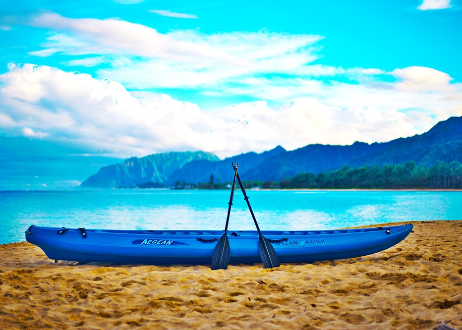 Oahu Beach Gear Rentals - Double Kayak