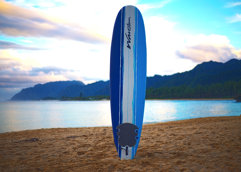 Oahu Beach Gear Rentals - Beginner Surfboard
