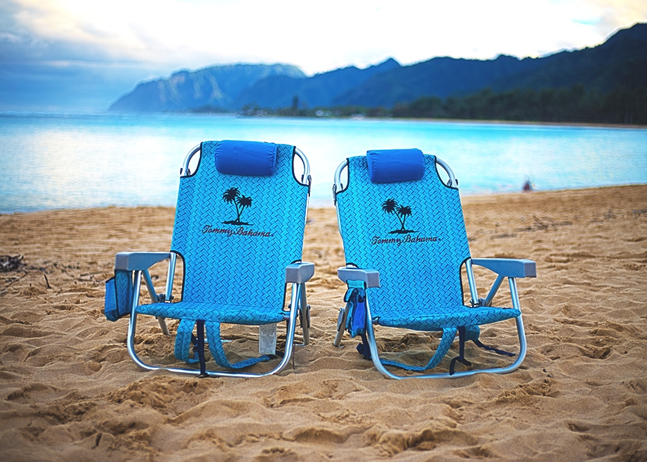 Oahu Beach Gear Rentals - Folding Beach Chairs