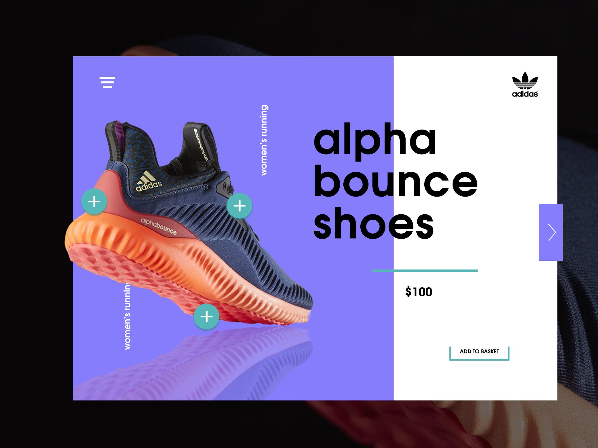 Adidas Single Item E-Commerce