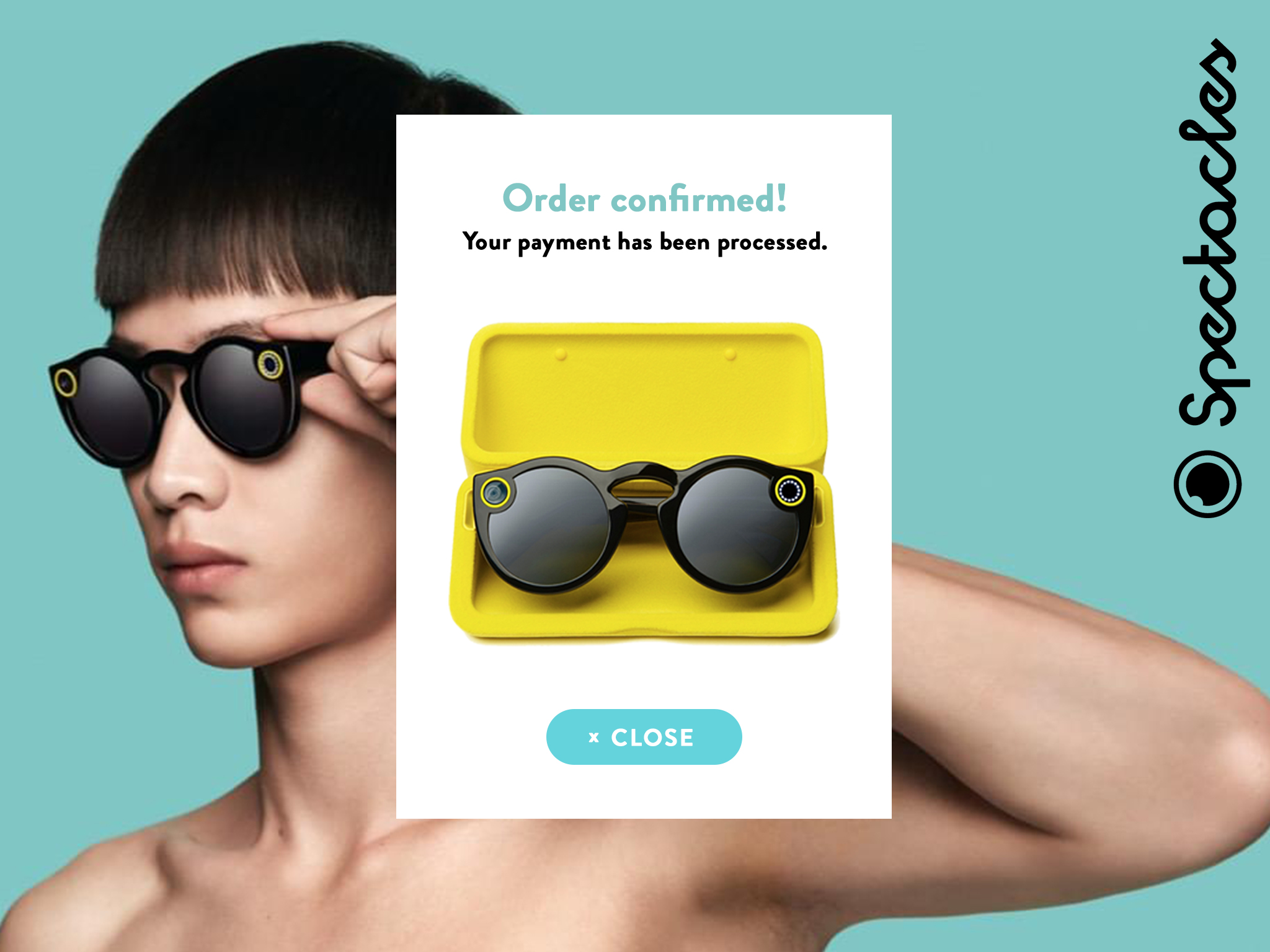 Spectacles Confirmation Page