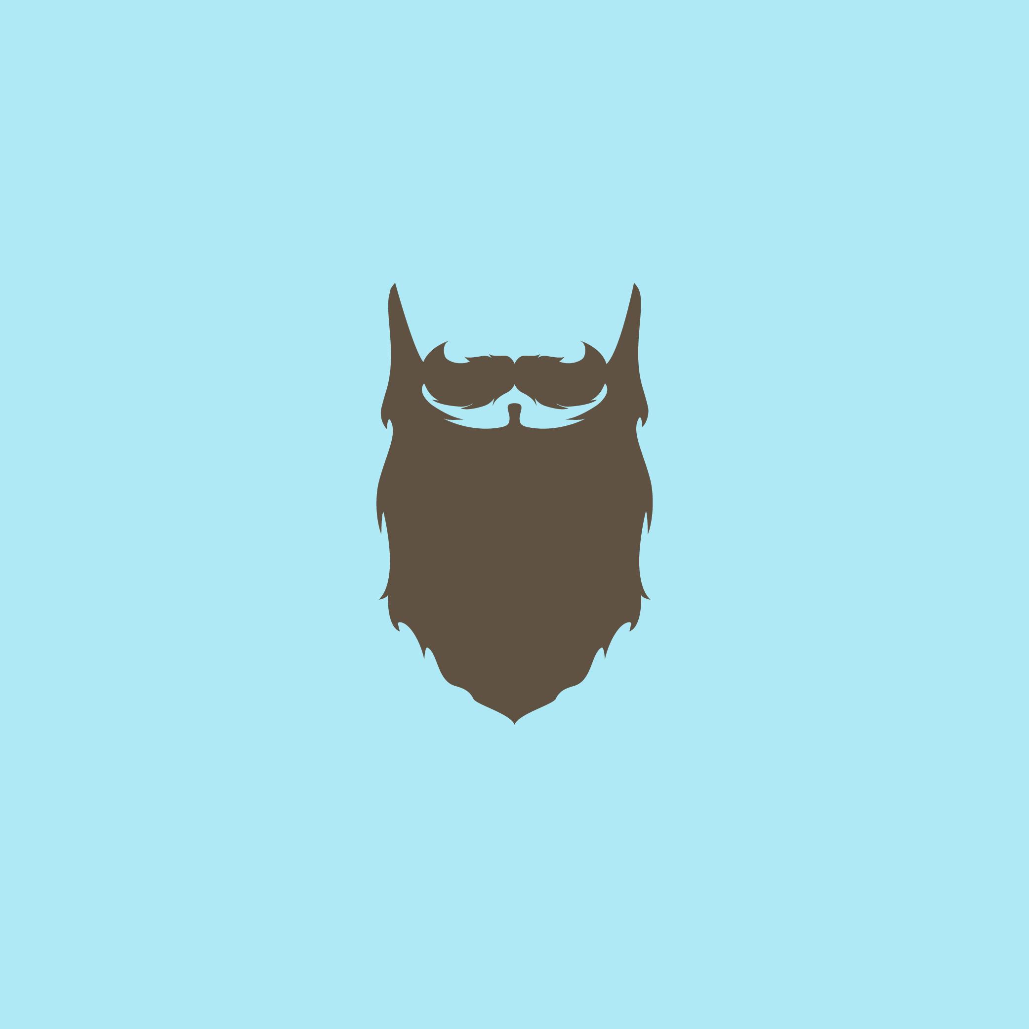 Flat Beard - Apollo Creative Co - Hampshire Graphic Design