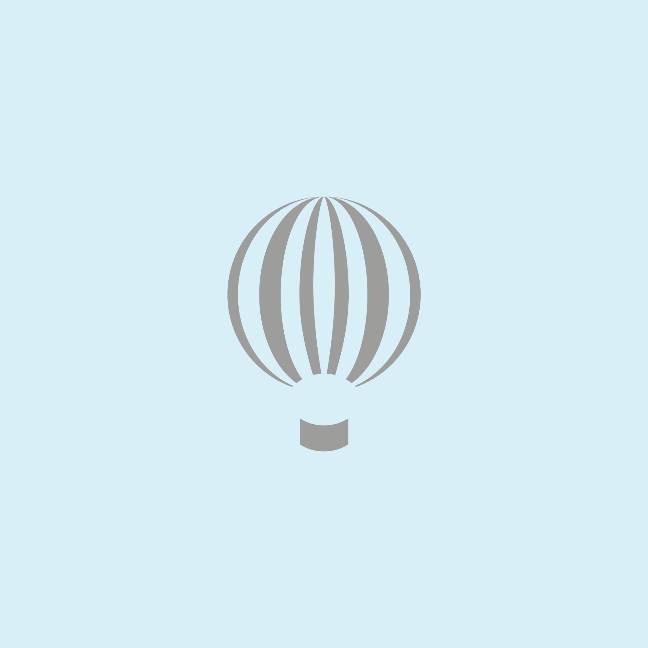 Hot Air Logo - Apollo Creative Co - Hampshire Graphic Design