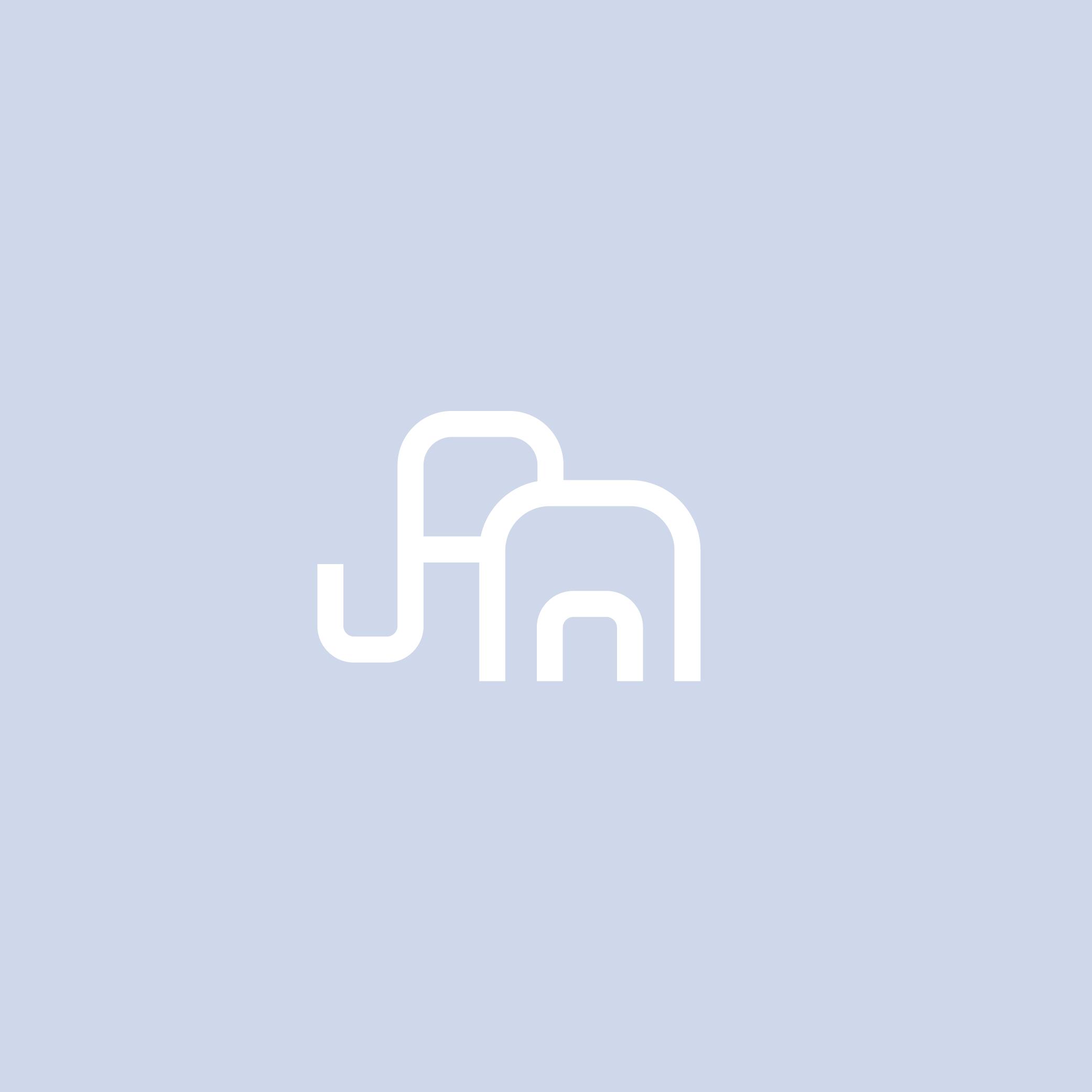 Minimal Elephant Logo - Apollo Creative Co - Hampshire Graphic Design