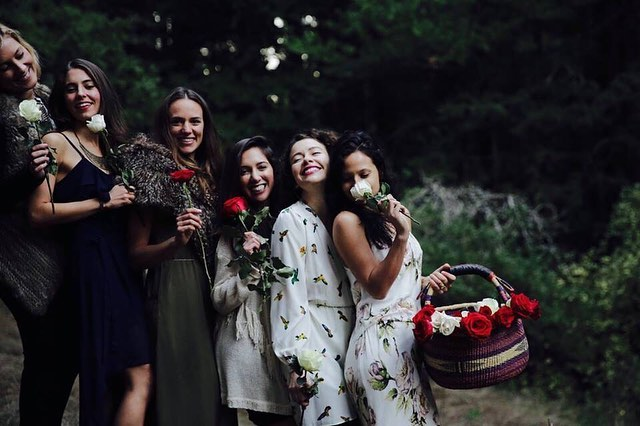 Throwback to a retreat I lead in 2015 that was the culmination of a 3-month online program for the sacred feminine called Magnetic. 🌹 ⁣ It was so beautiful to watch all the women blossom open by the end! I really believe women grow exponentially when we do the work together. ⁣✨ ⁣ I have a few spots left in : : Evoke: : Awakening the Goddess Within, beginning Jan 18 if you are feeling the call. More details: rachelrossitto.com/evoke ✨