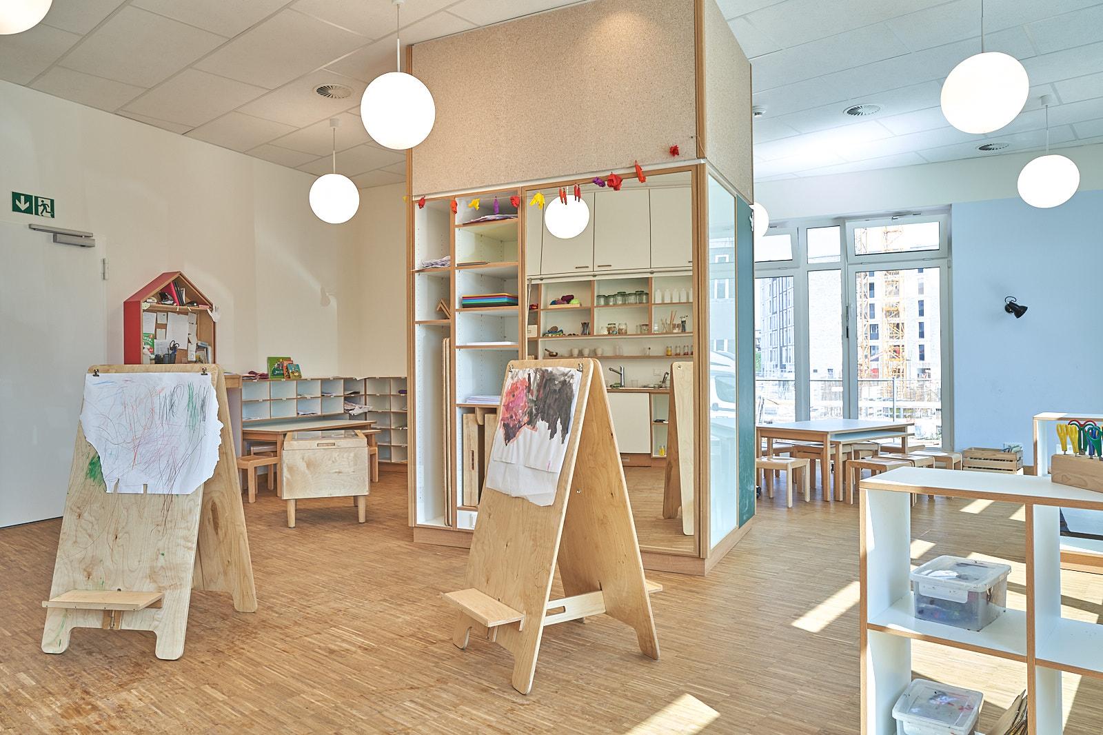 Hamburg, Neue Mitte Altona, Moete, Kita Sandvika, Atelier, Lernwerkstatt, Kita, Kindergarten, Kindertagesstätte, Krippe 02.jpg
