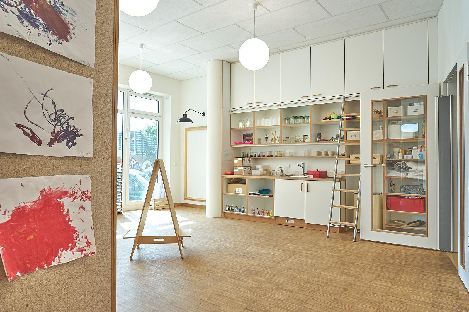 Hamburg, Neue Mitte Altona, Moete, Kita Sandvika, Atelier, Lernwerkstatt, Kita, Kindergarten, Kindertagesstätte, Krippe 05.jpg