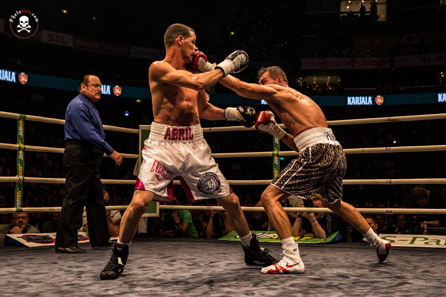 Edis Tatli vs. Richar Abril - WBA lightweight world champion title match 2014
