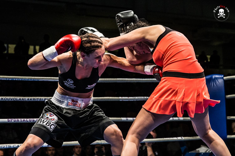 Eva Wahlstrom vs Gina Chamie