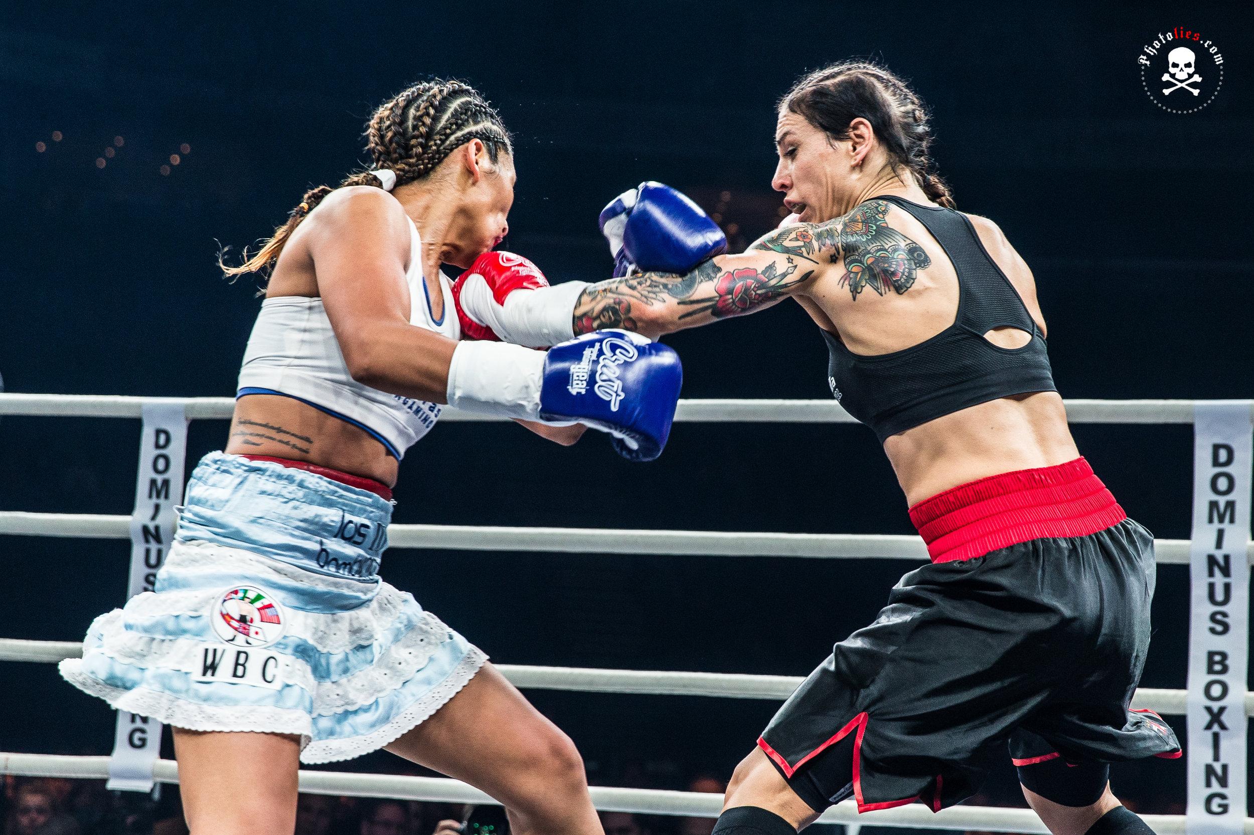 Eva Wahlstrom vs. Anahi Esther Sanchez