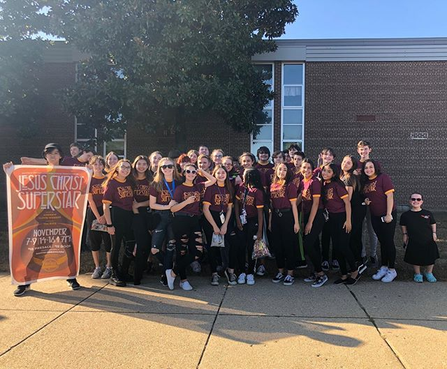 The Cast of Jesus Christ Superstar is homecoming ready !