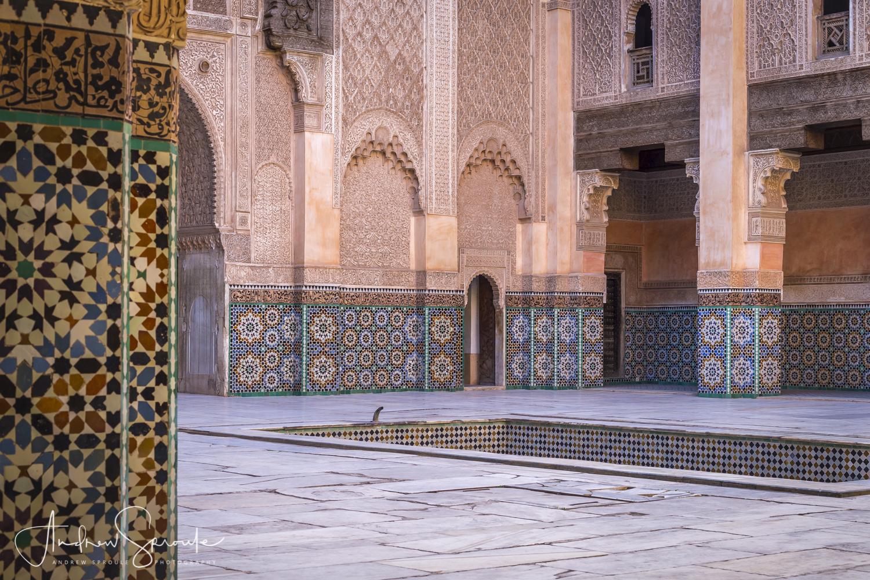Andrew Sproule | Adventure and Wildlife Photographer | Marrakech, Morocco | Medina Ben Youssef