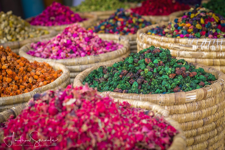 Andrew Sproule | Adventure and Wildlife Photographer | Marrakech, Morocco | Medina Herbs