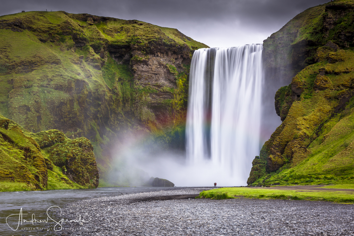 Andrew Sproule | Adventure & Wildlife Photographer | Iceland | Skogafoss Waterfall
