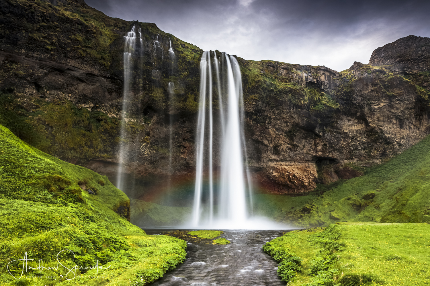 Andrew Sproule | Adventure & Wildlife Photographer | Iceland | Seljalandsfoss Waterfall