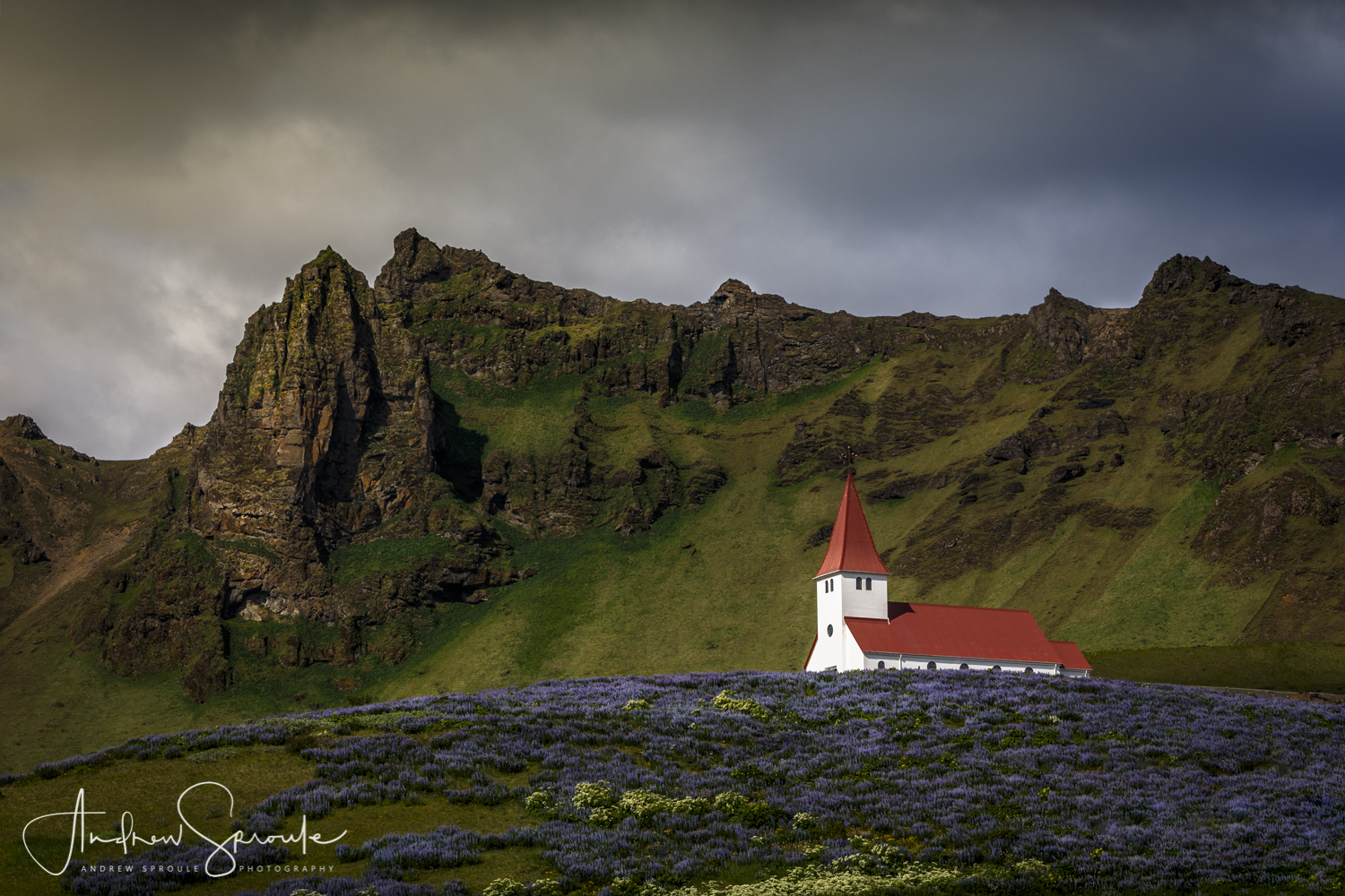 Andrew Sproule | Adventure & Wildlife Photographer | Iceland | Vik Church