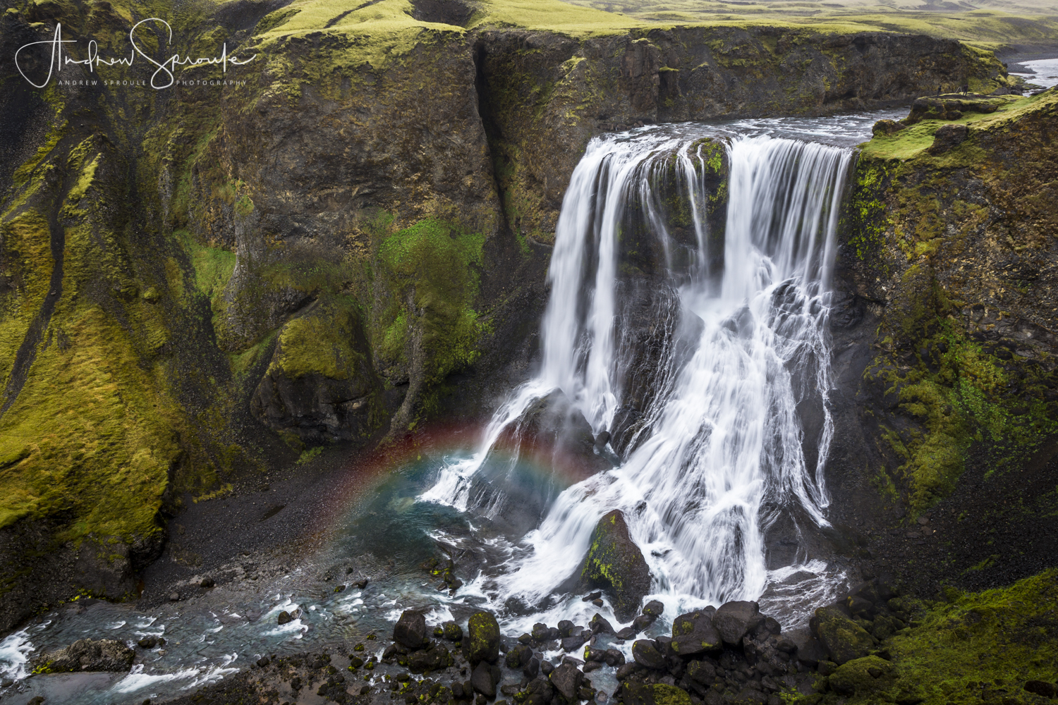 Andrew Sproule | Adventure & Wildlife Photographer | Iceland | Fagrifoss Waterfall