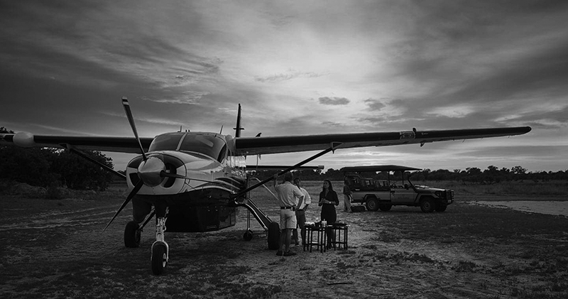 Typical Southern Africa internal charter flight | Image © Moremi Game Reserve, Botswana, Africa