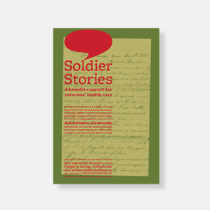 "2010 ""Solider Stories"" Poster"